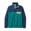 Patagonia Womens Lightweight Synch Snap-T Pullover Borealis Green
