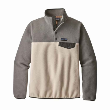 Patagonia Womens Lightweight Synch Snap-T Fleece Pullover Calcium