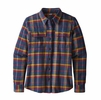 Patagonia Womens Long Sleeve Fjord Flannel Shirt Rebel: Arrow Red (close out)