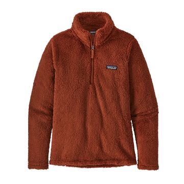 Patagonia Womens Los Gatos 1/4 Zip Burnished Red (Close Out)