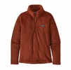 Patagonia Womens Los Gatos 1/4 Zip Burnished Red