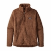 Patagonia Womens Los Gatos 1/4 Zip Moccasin Brown