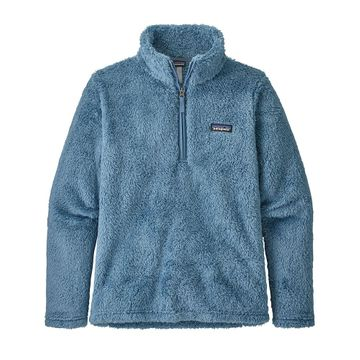 Patagonia Womens Los Gatos 1/4 Zip Pigeon Blue (Close Out)