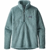 Patagonia Womens Los Gatos 1/4 Zip Shadow Blue