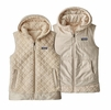 Patagonia Womens Los Gatos Hooded Vest Calcium