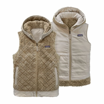 Patagonia Womens Los Gatos Hooded Vest El Cap Khaki  (close out)