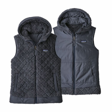 Patagonia Womens Los Gatos Hooded Vest Smolder Blue