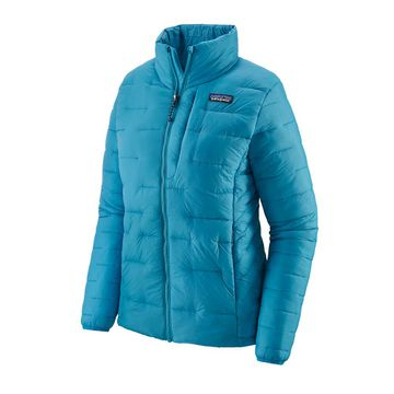 Patagonia Womens Macro Puff Jacket Curacao Blue (Close Out)