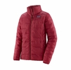 Patagonia Womens Macro Puff Jacket Roamer Red (Close Out)