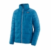 Patagonia Womens Macro Puff Jacket Steller Blue (Close Out)