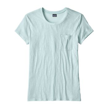 Patagonia Womens Mainstay Tee Atoll Blue (Close Out)