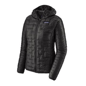 Patagonia Womens Micro Puff Hoody Black (close out)