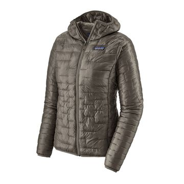 Patagonia Womens Micro Puff Hoody Feather Grey