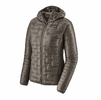 Patagonia Womens Micro Puff Hoody Feather Grey (close out)