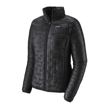 Patagonia Womens Micro Puff Jacket Black (close out)
