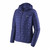 Patagonia Womens Nano Puff Hoody Cobalt Blue w/ Cobalt Blue (Close Out)