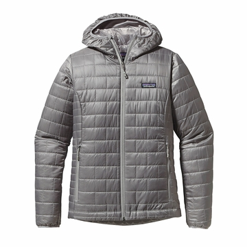 Patagonia Womens Nano Puff Hoody Feather Grey