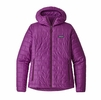 Patagonia Womens Nano Puff Hoody Ikat Purple (close out)