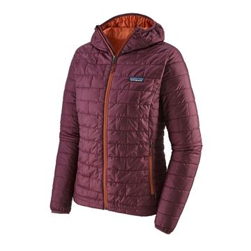 Patagonia Womens Nano Puff Hoody Light Balsamic (Close Out)