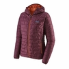 Patagonia Womens Nano Puff Hoody Light Balsamic