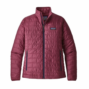 Patagonia Womens Nano Puff Jacket Arrow Red