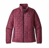 Patagonia Womens Nano Puff Jacket Arrow Red (Close Out)
