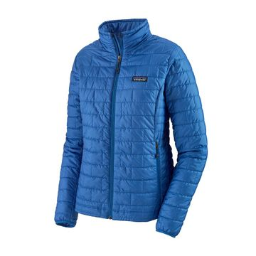 Patagonia Womens Nano Puff Jacket Bayou Blue (Close Out)