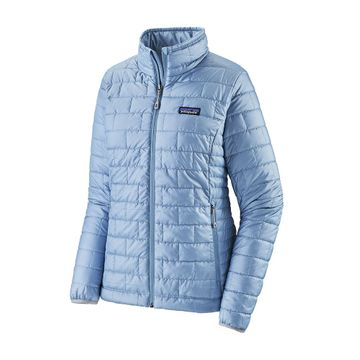 Patagonia Womens Nano Puff Jacket Berlin Blue (Close Out)