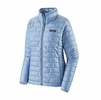 Patagonia Womens Nano Puff Jacket Berlin Blue