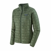 Patagonia Womens Nano Puff Jacket Camp Green