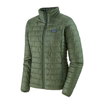 Patagonia Womens Nano Puff Jacket Camp Green (Close Out)