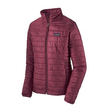 Patagonia Womens Nano Puff Jacket Chicory Red (close out)