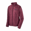 Patagonia Womens Nano Puff Jacket Chicory Red