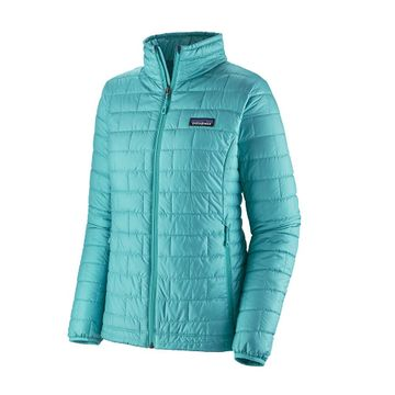 Patagonia Womens Nano Puff Jacket Iggy Blue