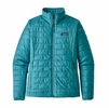 Patagonia Womens Nano Puff Jacket Mako Blue (Close Out)