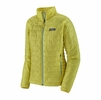 Patagonia Womens Nano Puff Jacket Pineapple