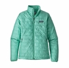 Patagonia Womens Nano Puff Jacket Vjosa Green