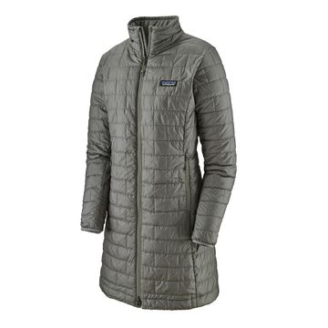 Patagonia Womens Nano Puff Parka Feather Grey (Close Out)