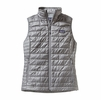 Patagonia Womens Nano Puff Vest Feather Grey