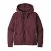 Patagonia Womens Organic Cotton Quilt Hoody Light Balsamic