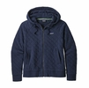 Patagonia Womens Organic Cotton Quilt Hoody New Navy (Close Out)
