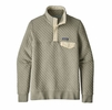 Patagonia Womens Organic Cotton Quilt Snap-T Pullover Celadon (Close Out)