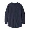 Patagonia Womens Organic Cotton Quilt Tunic New Navy (Close Out)