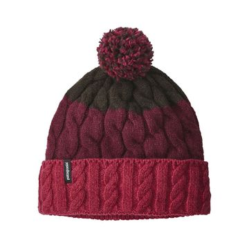 Patagonia Womens Pom Beanie Glacier Stripe: Craft Pink (Close Out)