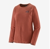 Patagonia Womens R1 Air Crew Spanish Red (Close Out)