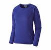 Patagonia Womens R1 Crew Cobalt Blue (Close Out)