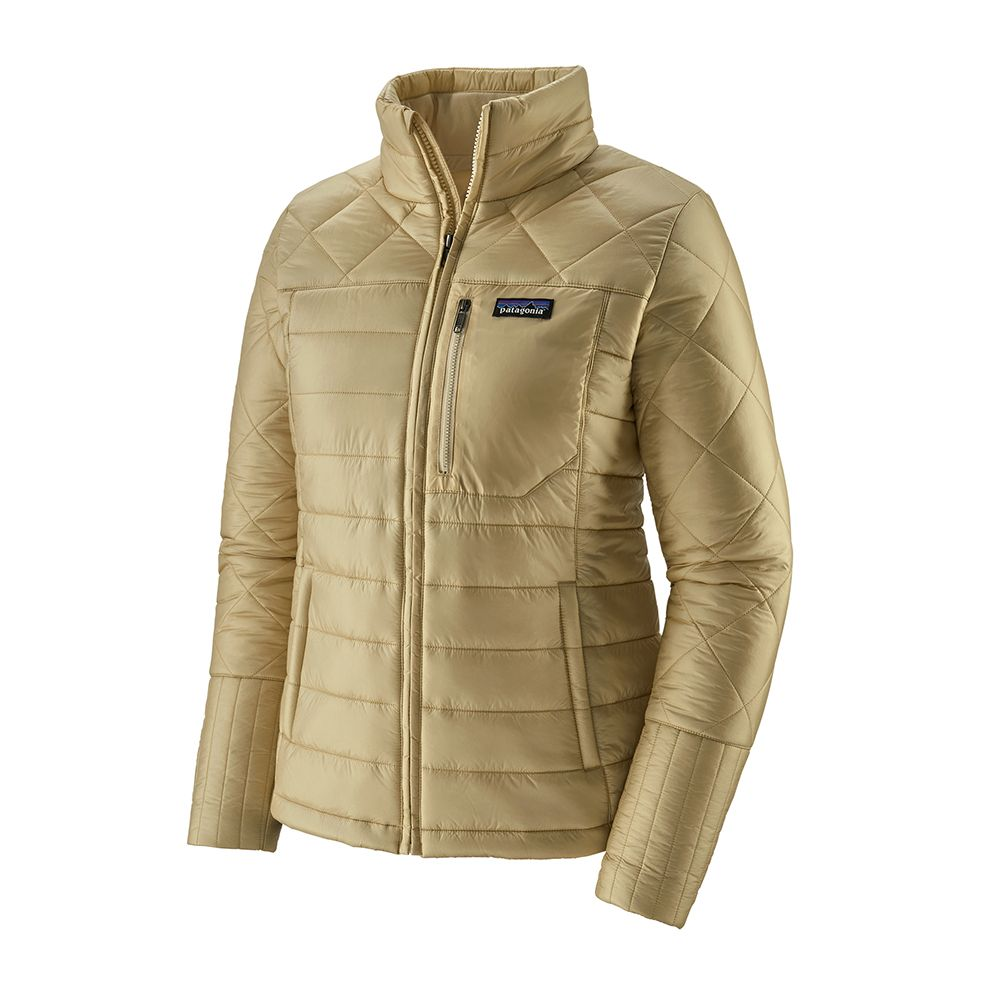 Patagonia Womens Radalie Jacket Oyster White Close Out