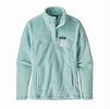 Patagonia Womens Re-Tool Snap-T Fleece Pullover Atoll Blue/ Atoll Blue X-Dye (Close Out)