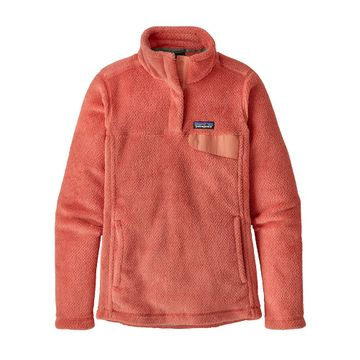 Patagonia Womens Re-Tool Snap-T Fleece Pullover Spiced Coral: Mellow Melon X-Dye (Close Out)