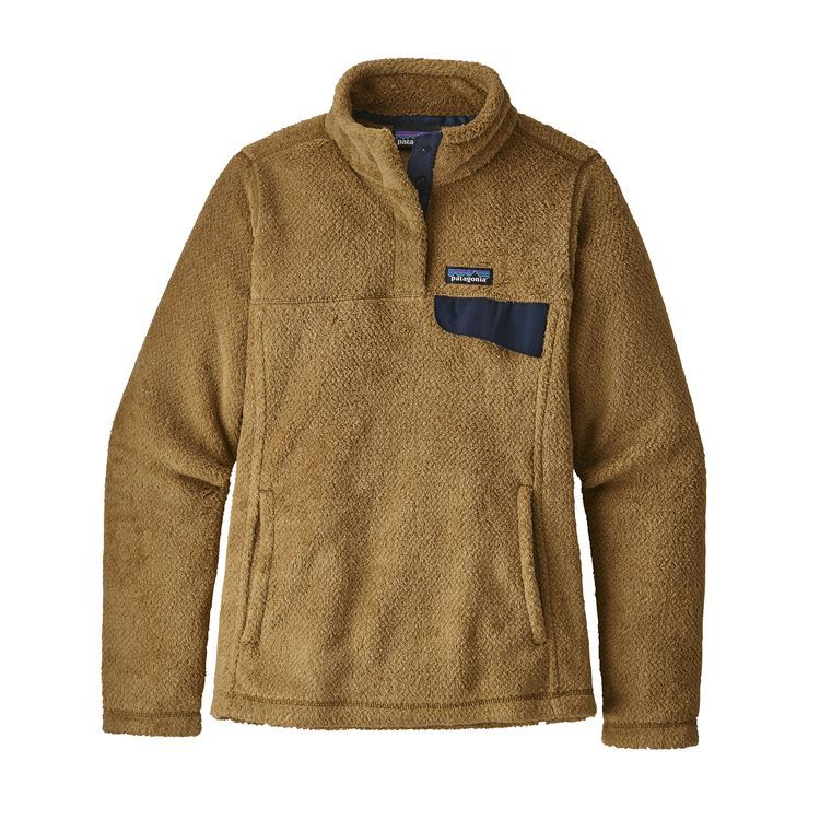 c93fba0a Patagonia Womens Re-Tool Snap-T Fleece Pullover Kastanos Brown: Biscuit  X-Dye (close out)